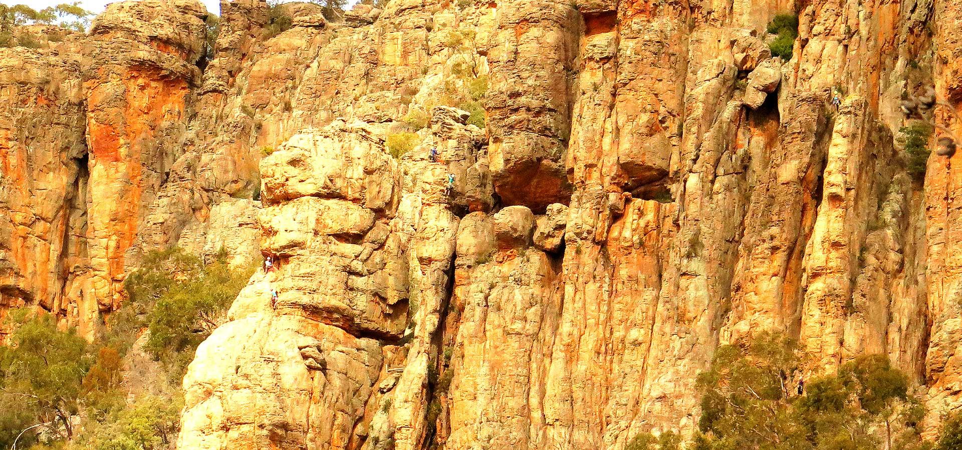 Arapiles advanced climbing image
